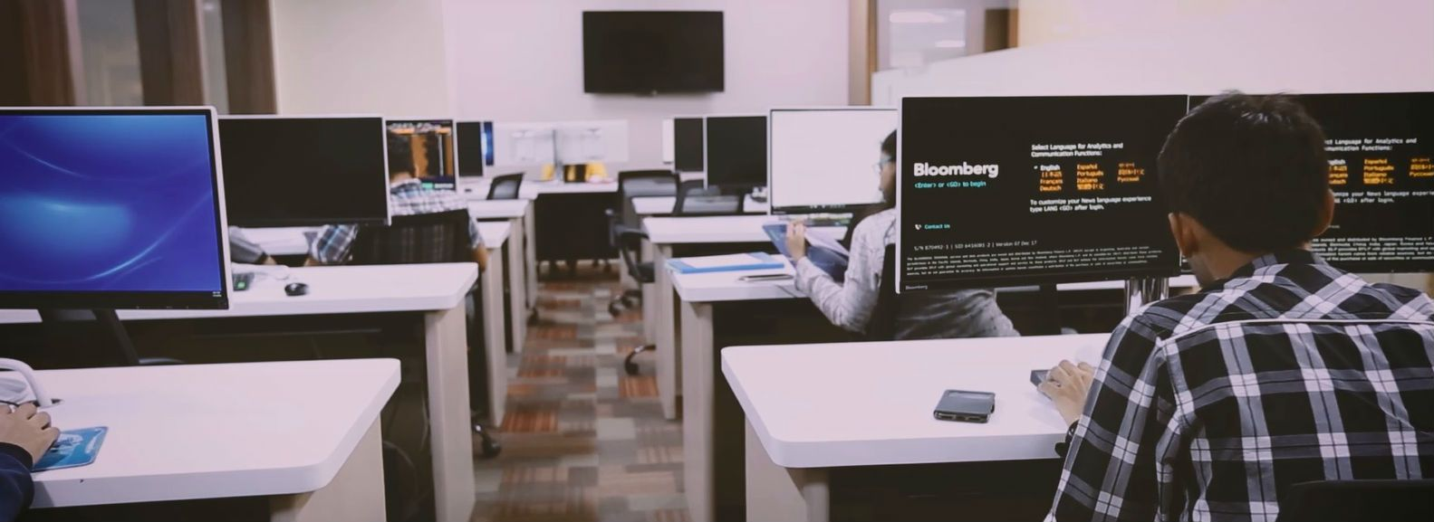 Access to Bloomberg terminals & Marketing databases